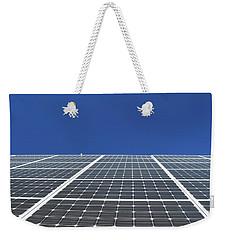 Sky Grid  Weekender Tote Bag by Lyle Crump