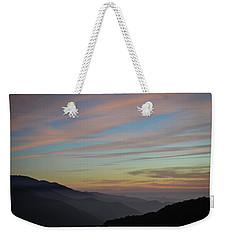 Sky Haze Weekender Tote Bag
