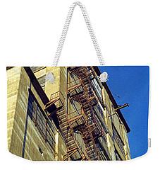 Sky High Warehouse Weekender Tote Bag