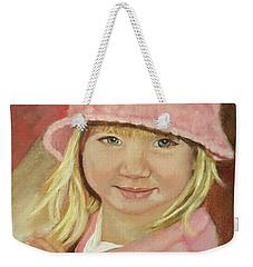 Sky In Pink Weekender Tote Bag by Sharon Schultz