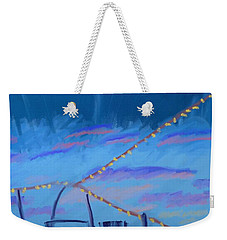 Sky Lights Weekender Tote Bag