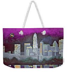 Sky Line Weekender Tote Bag