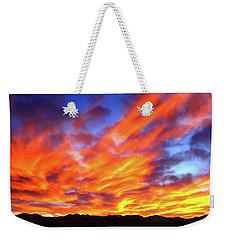 Sky On Fire #5 Weekender Tote Bag