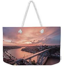 Sky Pierce Weekender Tote Bag