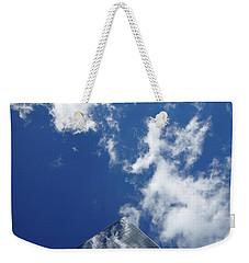 Sky Pyramid Weekender Tote Bag