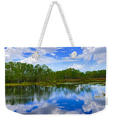 Sky Reflections Weekender Tote Bag
