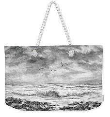Sky Rocks And Water Weekender Tote Bag