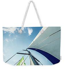 Sky Sailing  Weekender Tote Bag