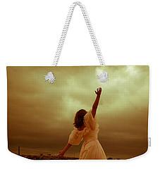 Sky Splitter Weekender Tote Bag