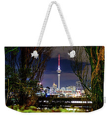 Sky Tower Weekender Tote Bag