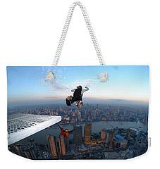 Skydiving Weekender Tote Bag