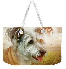 Skye Terrier Weekender Tote Bag