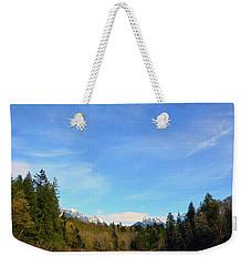 Skykomish River And Persis Weekender Tote Bag