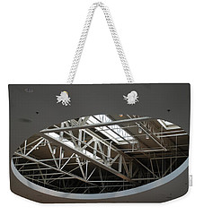 Weekender Tote Bag featuring the photograph Skylight Gurders by Rob Hans