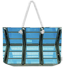 Weekender Tote Bag featuring the photograph Skylight.. by Nina Stavlund