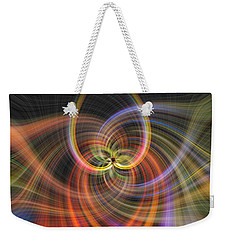 Weekender Tote Bag featuring the photograph Skyline by Cathy Donohoue