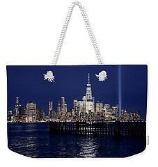 Skyline Lights Weekender Tote Bag