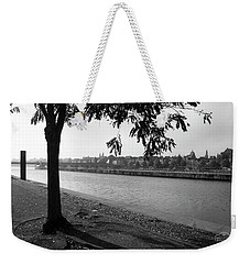 Weekender Tote Bag featuring the photograph Skyline Maastricht by Nop Briex