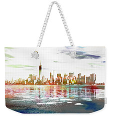 Skyline Of New York City, United States Weekender Tote Bag