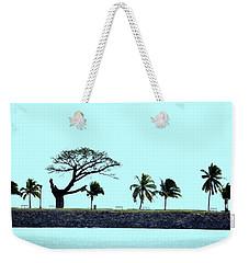 Skyline On Blue Weekender Tote Bag