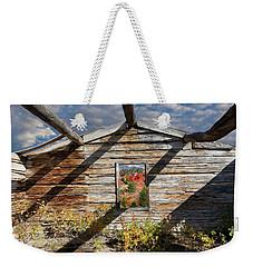 Skylit Cabin In The Woods Weekender Tote Bag
