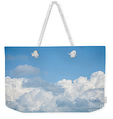 Weekender Tote Bag featuring the photograph Skyscape by Jan Bickerton