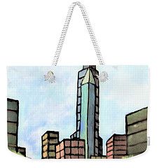 Skyscraper Weekender Tote Bag