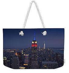 Skyscrapers Weekender Tote Bag by Rick Berk