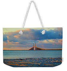 Skyway Bridge Weekender Tote Bag