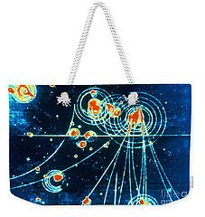 Slac Bubble Chamber Weekender Tote Bag