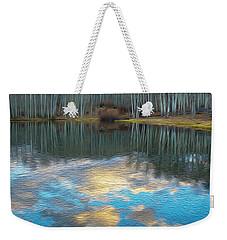 Slack Weiss Autumn Weekender Tote Bag
