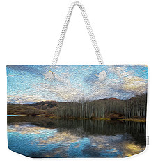 Slack Weiss Lake Weekender Tote Bag