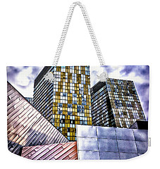 Slanted Las Vegas Skyline Weekender Tote Bag