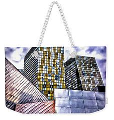 Slanted Las Vegas Skyline Weekender Tote Bag by Walt Foegelle