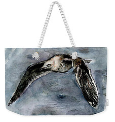 Slaty-backed Gull Weekender Tote Bag
