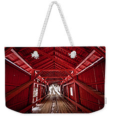 Slaughterhouse Red Weekender Tote Bag