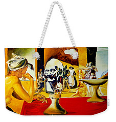 Slave Market With The Invisible Bust Of Voltaire Weekender Tote Bag