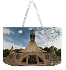 Weekender Tote Bag featuring the photograph Slavkov Peace Memorial by Michal Boubin