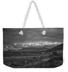 Slea Head Landscape #d4 Bw Weekender Tote Bag by Leif Sohlman