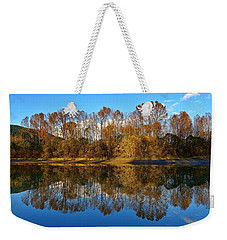 Fraser River Arm  Weekender Tote Bag