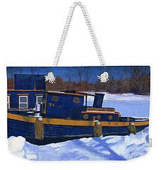 Sleeping Barge Weekender Tote Bag