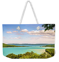 Weekender Tote Bag featuring the photograph Sleeping Bear Dunes National Lakeshore by Alexey Stiop
