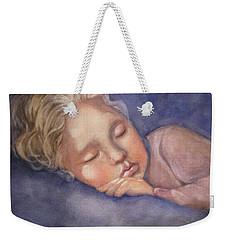 Sleeping Beauty Weekender Tote Bag by Marilyn Jacobson