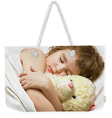 Sleeping Boy Weekender Tote Bag