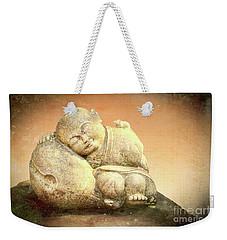 Sleeping Buddha Weekender Tote Bag