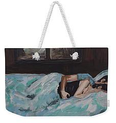Sleeping In Weekender Tote Bag