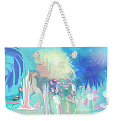 Sleeping In The Heavens To Help With The Children Weekender Tote Bag