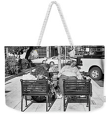 Sleeping In The Midst Of It Weekender Tote Bag