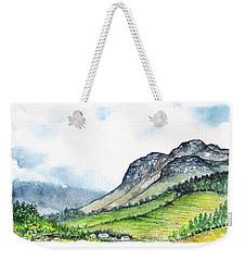 Sleeping Valley Weekender Tote Bag by Heidi Kriel
