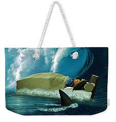 Sleeping With Sharks Weekender Tote Bag